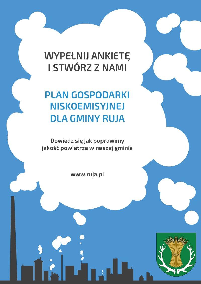 Plan gospodarki niskoemisyjnej dla gminy Ruja